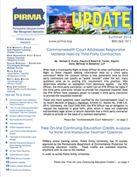 Summer Newsletter, 2016